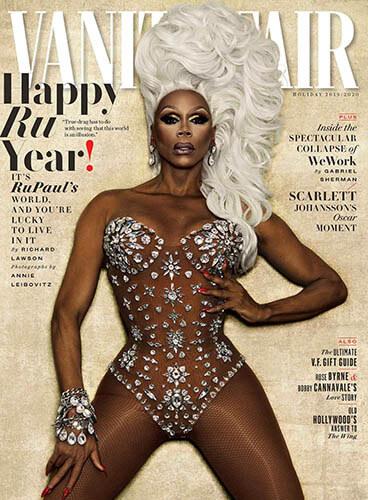 RuPaul makes Vanity Fair