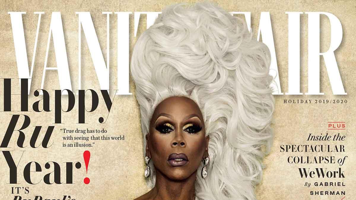Vanity Fair Cover January 2020.Rupaul Makes Vanity Fair History As 1st Drag Queen Cover