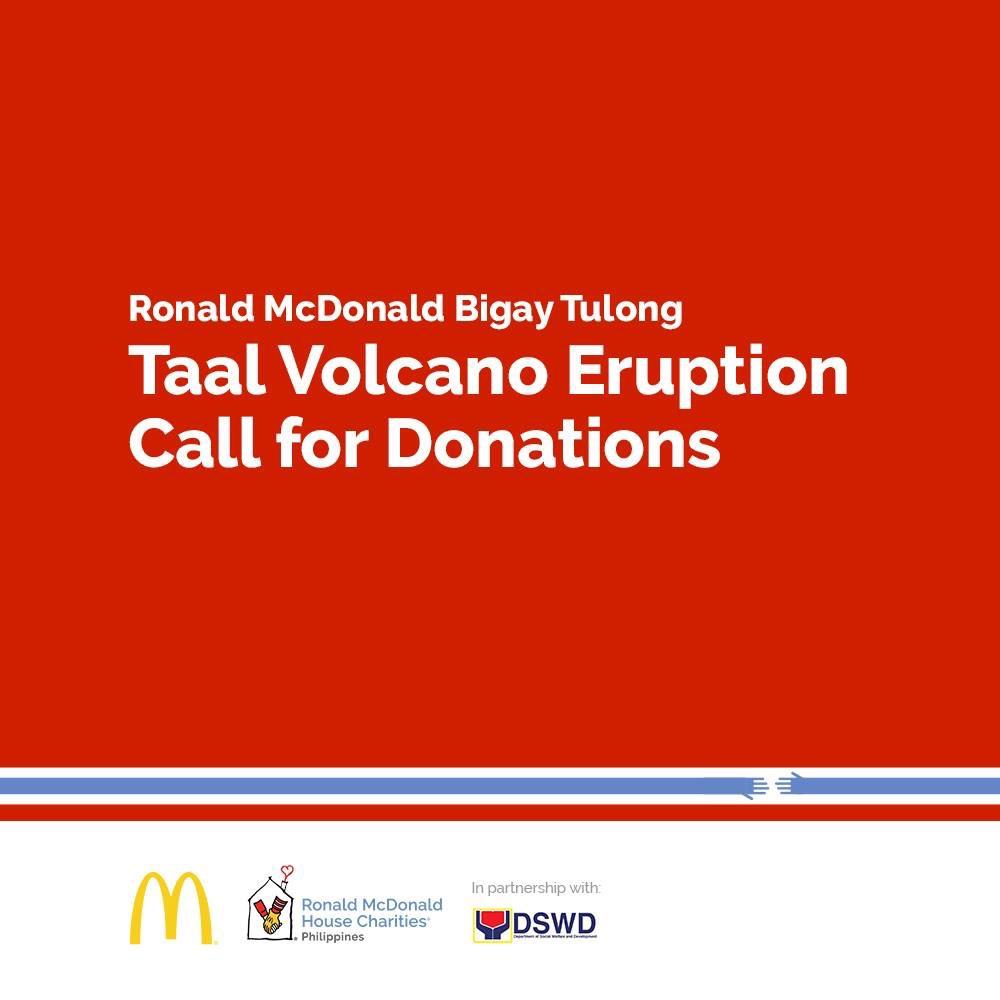 McDonald's Philippines Taal Volcano