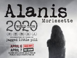 Ovation Productions confirms additional night for Alanis Morissette