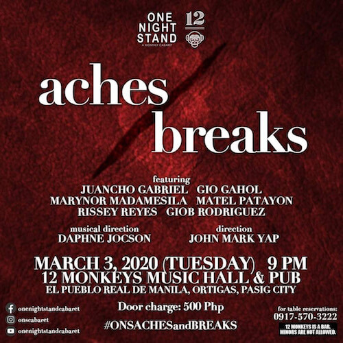 ONS presents Aces/Breaks