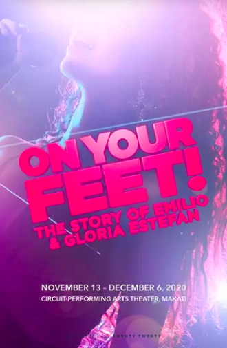 On Your Feet will feature Gab Pangilinan as Gloria Estefan