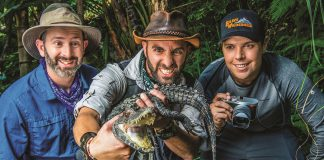 Animal Planet premieres Coyote Peterson: Brave the Wild