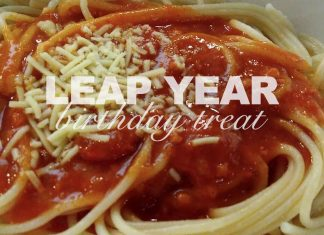 Leap year babies get a treat