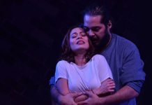 Here is a Review of Stage Kiss