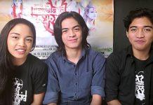 The cast of Ang Nawalang Kapatid