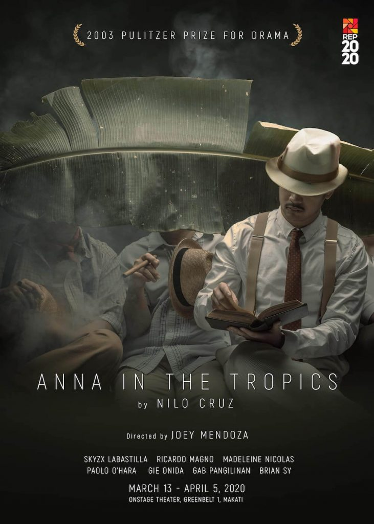 Anna in the Tropics is Repertory Philippines' latest production