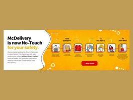 McDonald's implements No-Touch McDelivery
