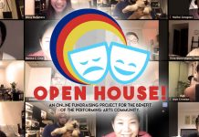 OPEN HOUSE fundraising for Performing Arts