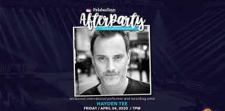 Hayden Tee on PalabasTayo AfterParty