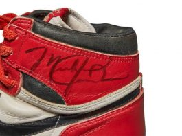Nike Air Jordan 1s will be auctioned