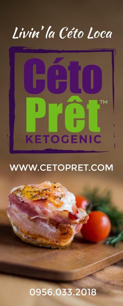 CÉTO PRÉT: keto and paleo-friendly meals within reach
