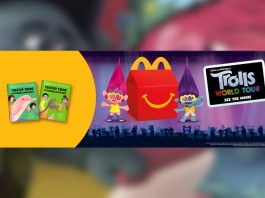 Trolls World Tour Happy Meal