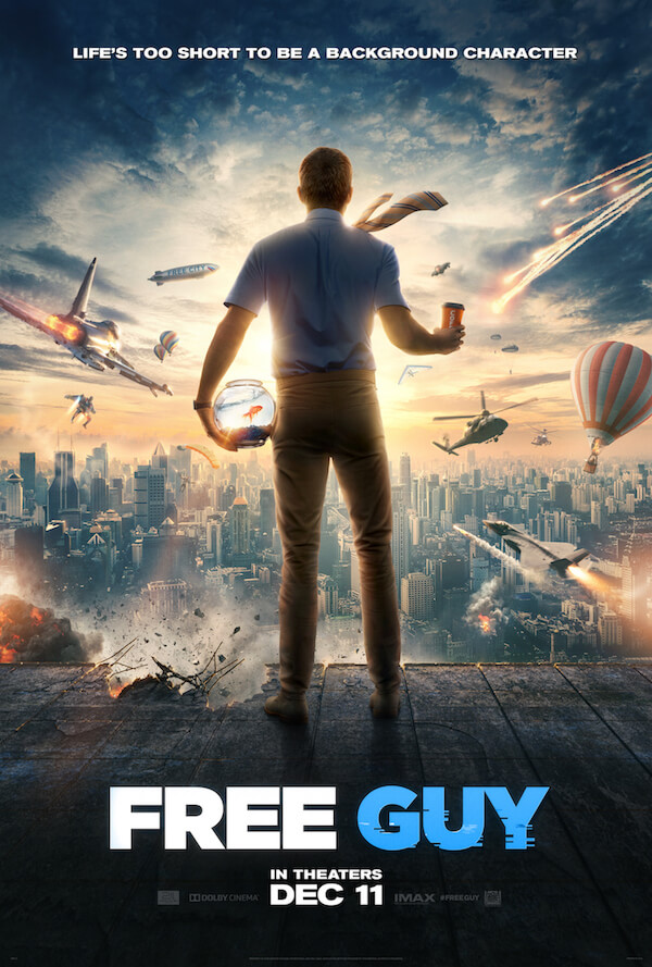 Free Guy trailer and poster now out