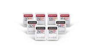 Samsung unveilsnew SD cards