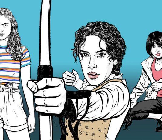 Pinay Illustrators take on strong female Netflix characters