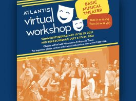 Atlantis Virtual Workshop continues in May