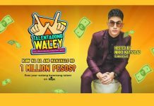 Talentadong Waley to give 1M pesos